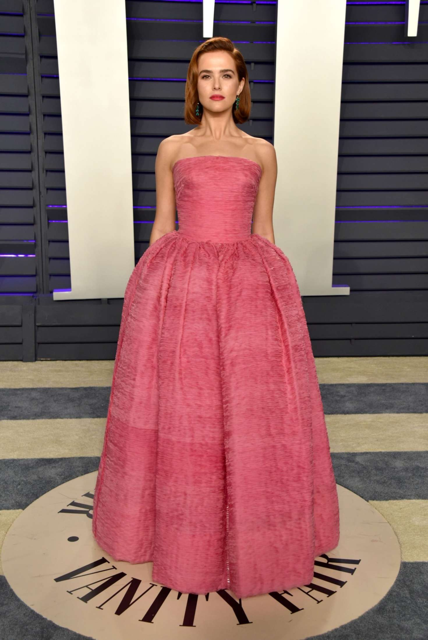 Zoey Deutch 2019 : Zoey Deutch: 2019 Vanity Fair Oscar Party -03