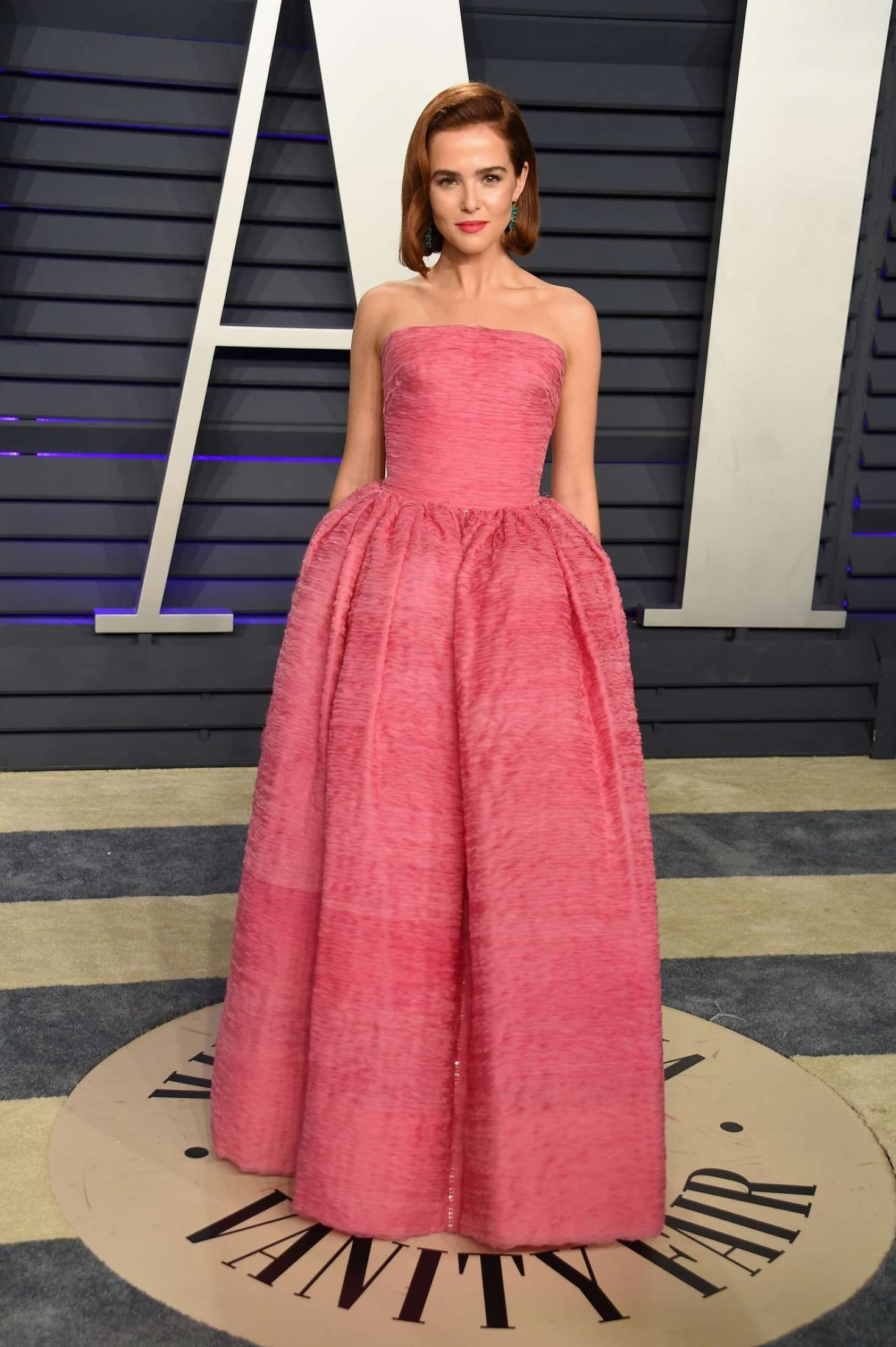 Zoey Deutch 2019 : Zoey Deutch: 2019 Vanity Fair Oscar Party -04