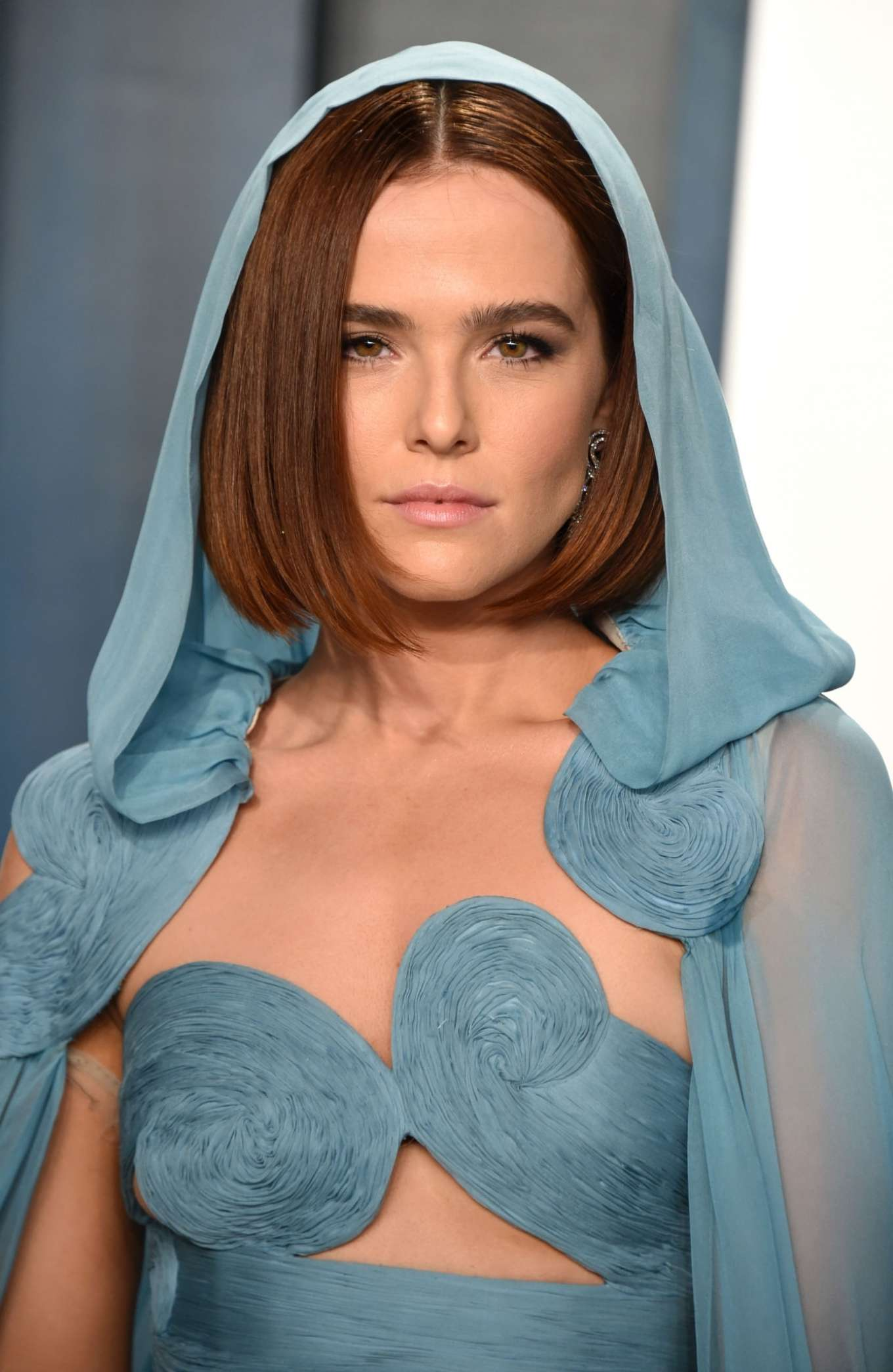 Zoey Deutch - 2020 Vanity Fair Oscar Party in Beverly Hills