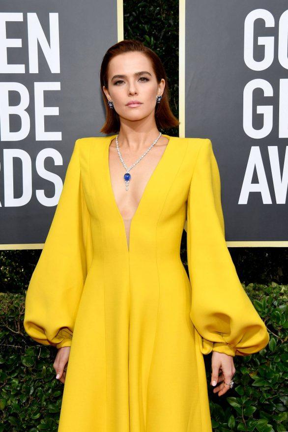 Zoey Deutch - 2020 Golden Globe Awards in Beverly Hills