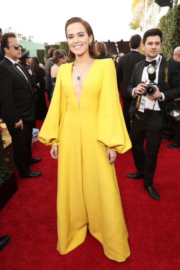 Zoey Deutch 2020 Golden Globe Awards 15 Gotceleb