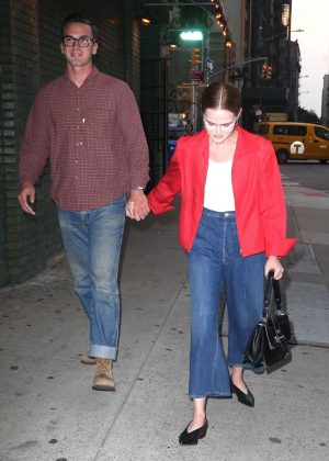 Zoey Deutch and boyfriend Dylan Hayes out in New York