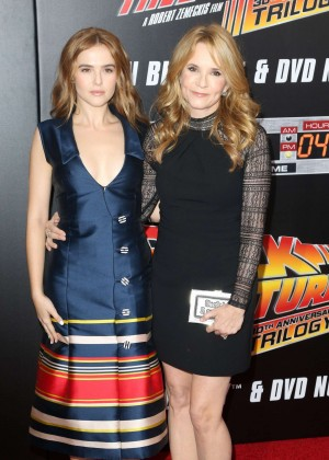 Zoey Deutch and Lea Thompson - 'Back To The Future' Special Anniversary Screening in NY