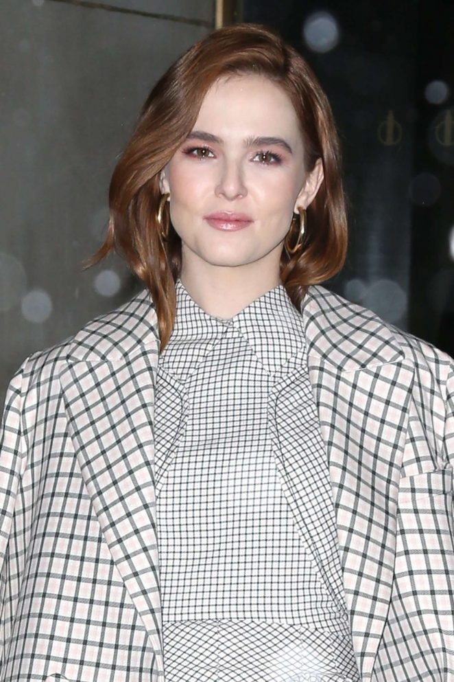 Zoey Deutch - Arrives at The Today Show in NYC