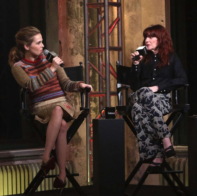 Zoey Deutch at AOL Build in New York -04