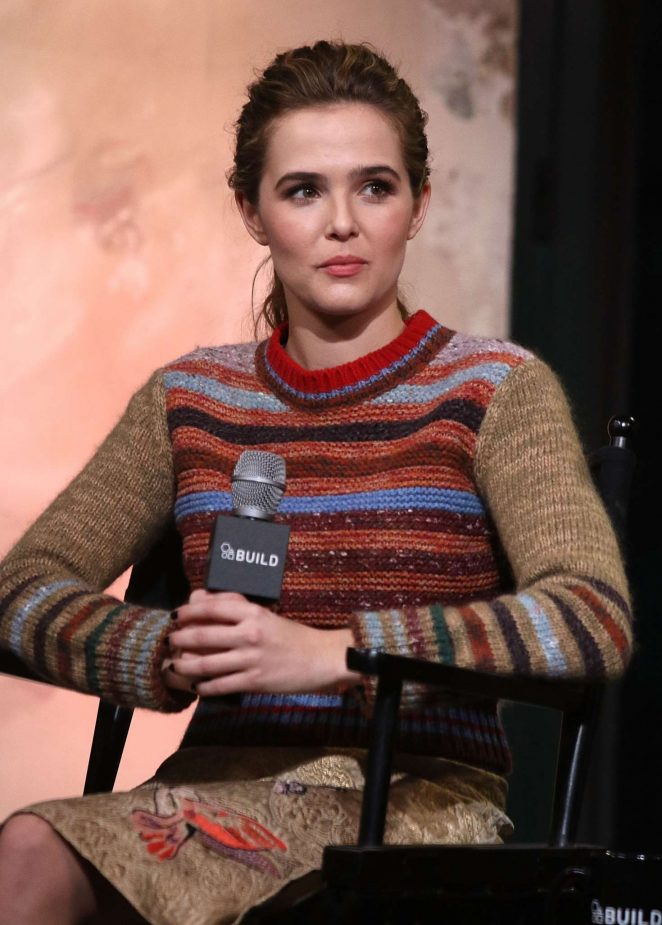 Zoey Deutch at AOL Build in New York -08