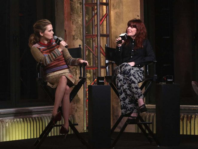 Zoey Deutch at AOL Build in New York -27