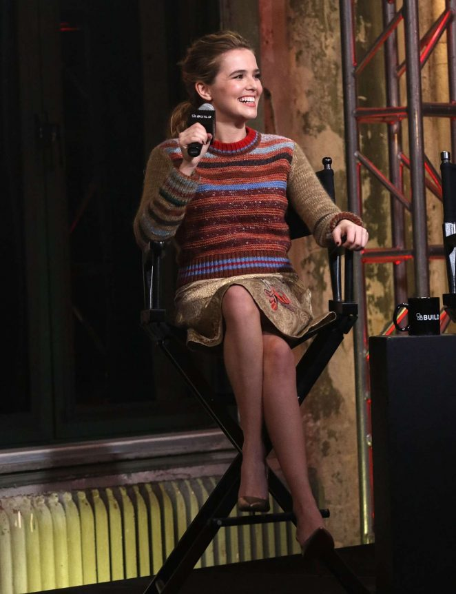Zoey Deutch at AOL Build in New York -39