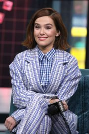 Zoey Deutch - At Build Series to discuss Buffaloed at Build Studio in New York