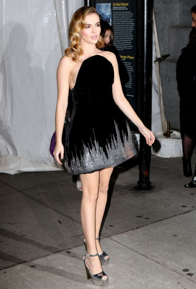Zoey Deutch – Attends at 26th Annual Gotham Independent Film Awards in NY