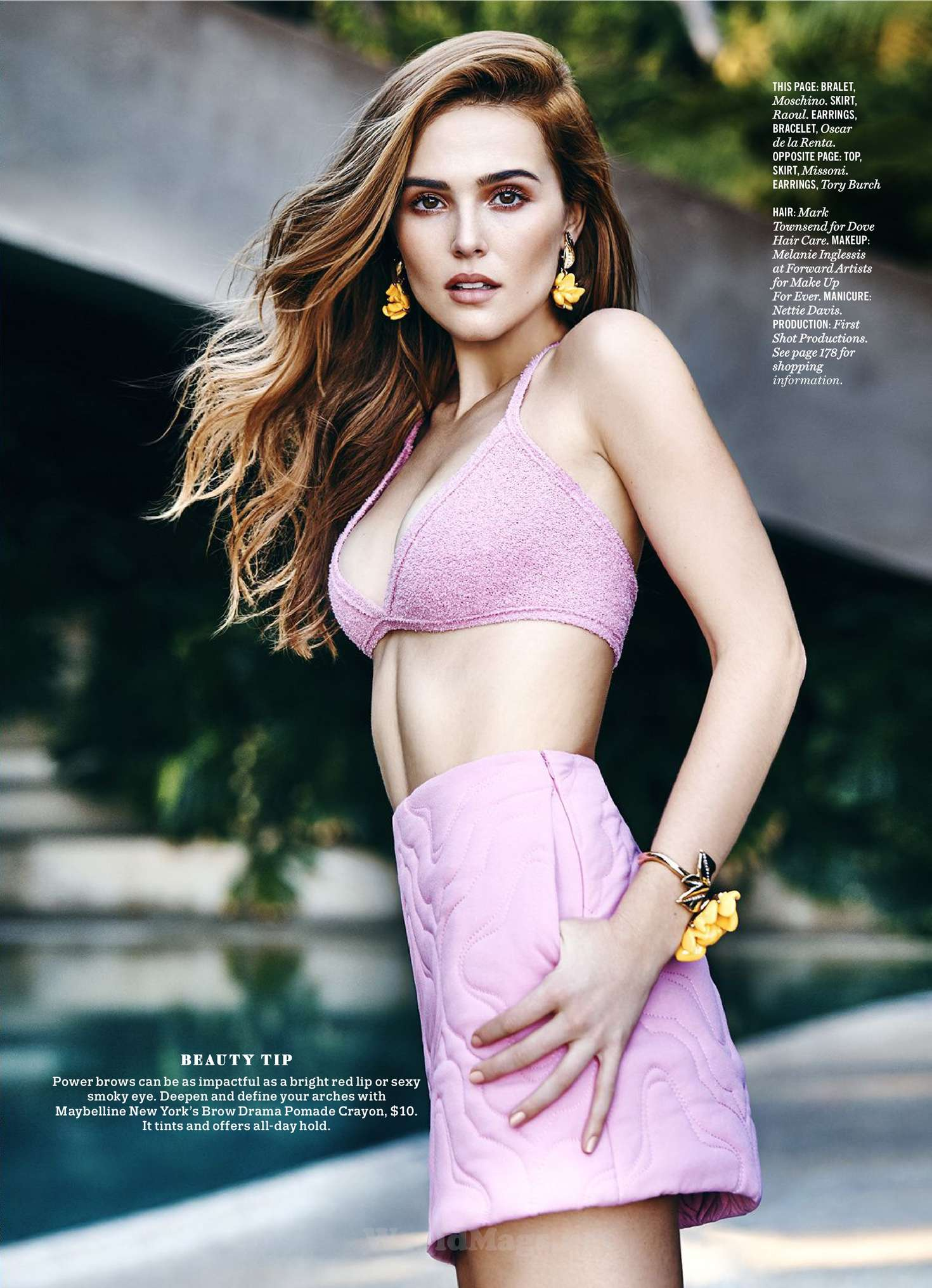 Zoey Deutch 2016 : Zoey Deutch: Cosmopolitan Magazine 2016 -01