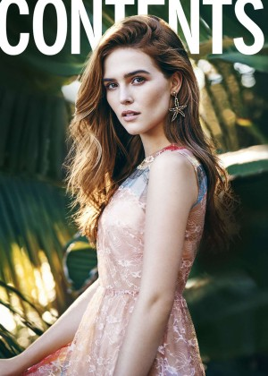 Zoey Deutch: Cosmopolitan Magazine 2016 -03