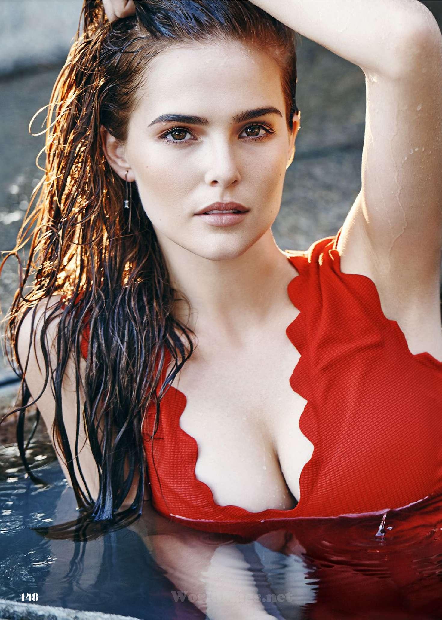 Zoey Deutch - Cosmopolitan Magazine (February 2016)