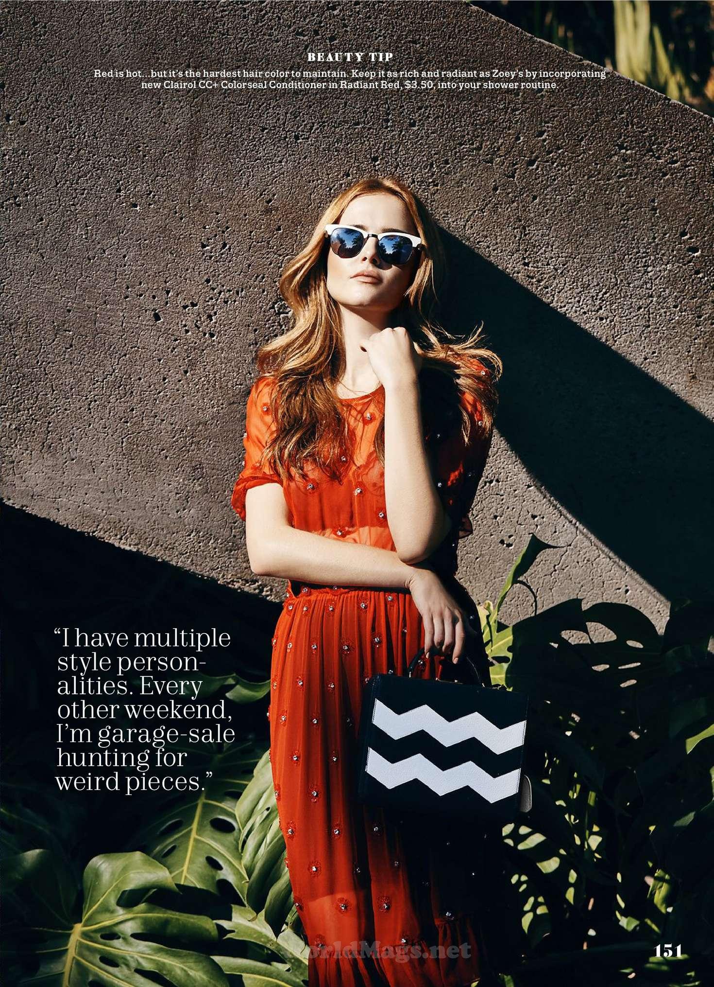 Zoey Deutch 2016 : Zoey Deutch: Cosmopolitan Magazine 2016 -14