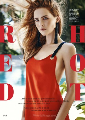 Zoey Deutch: Cosmopolitan Magazine 2016 -17