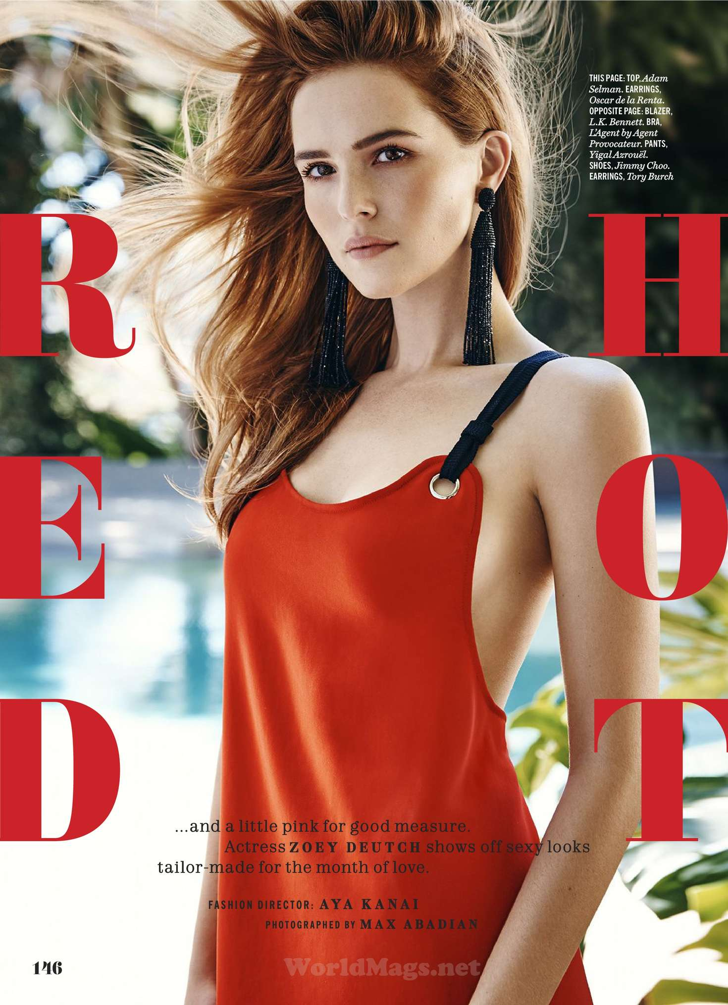 Zoey Deutch 2016 : Zoey Deutch: Cosmopolitan Magazine 2016 -17