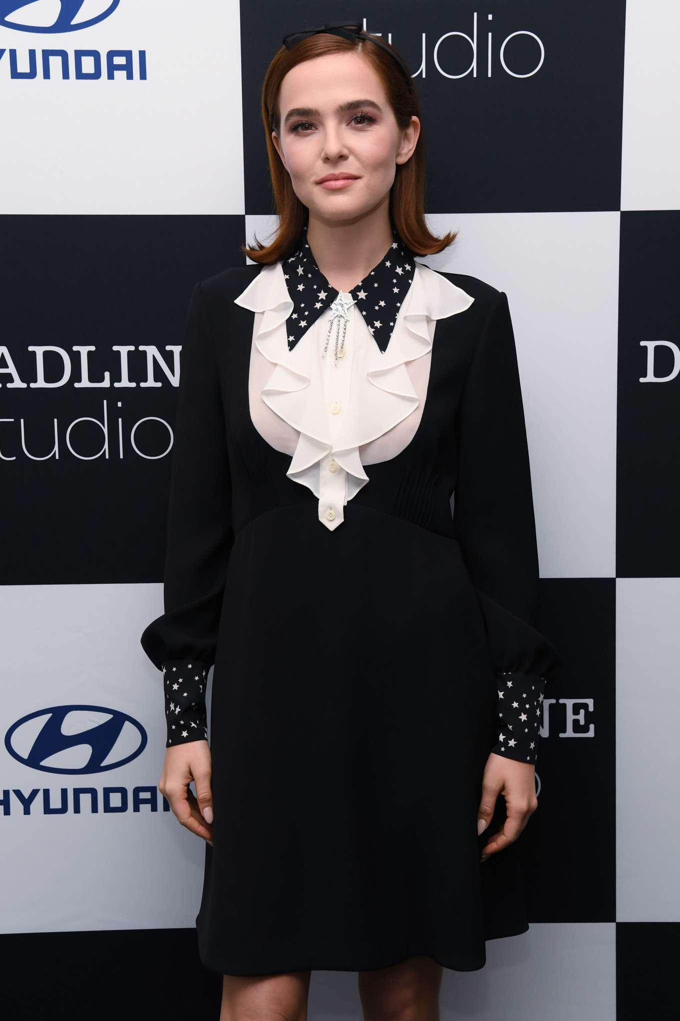 Zoey Deutch - Deadline Studio at 2019 Tribeca Film Festival in NYC