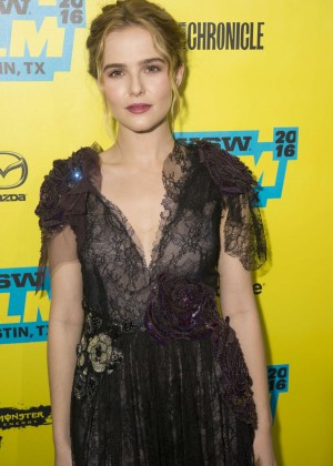 Zoey Deutch - 'Everybody Wants Some' Premiere at 2016 SXSW Film Festival in Austin