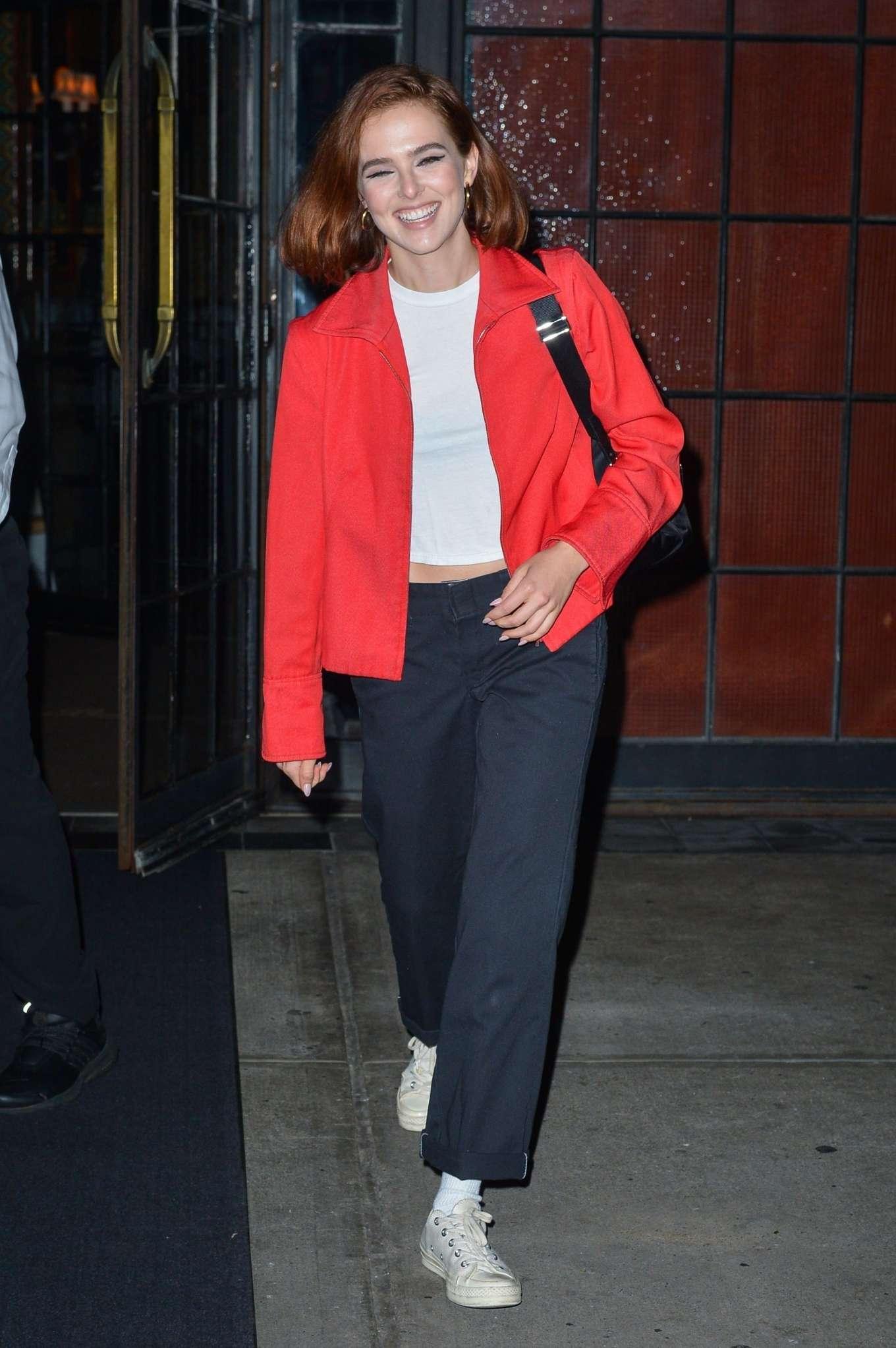 Zoey Deutch - Exits The Bowery Hotel in NY
