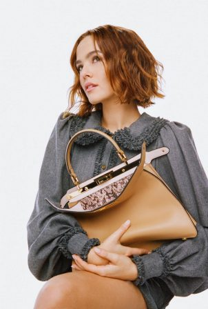 Zoey Deutch - Fendi Peekaboo ISeeU 2020