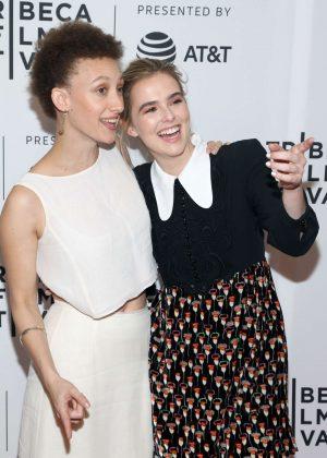 Zoey Deutch- 'Flower' screening at 2017 Tribeca Film Festival in New York