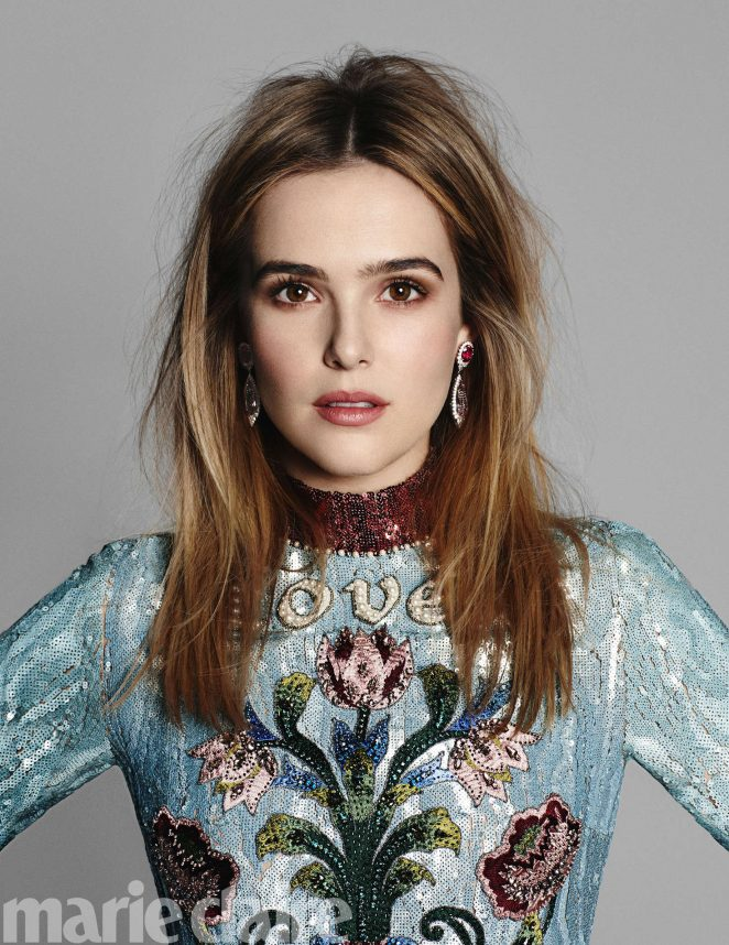 Zoey Deutch in Marie Claire Magazine (May 2017)
