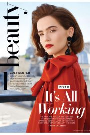 Zoey Deutch - InStyle US Cover Magazine (November 2019)
