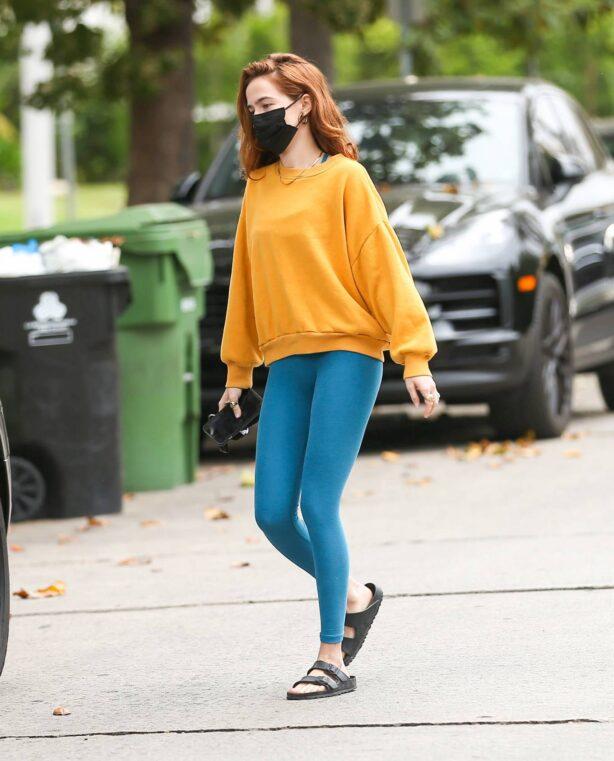 Zoey Deutch - Is seen in Los Angeles