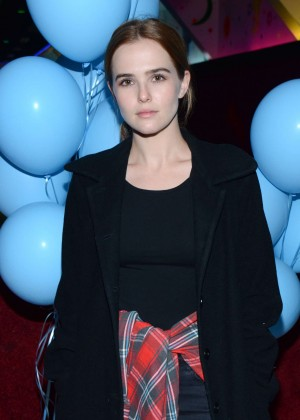 Zoey Deutch - Just Jared's Throwback Thursday Party in LA