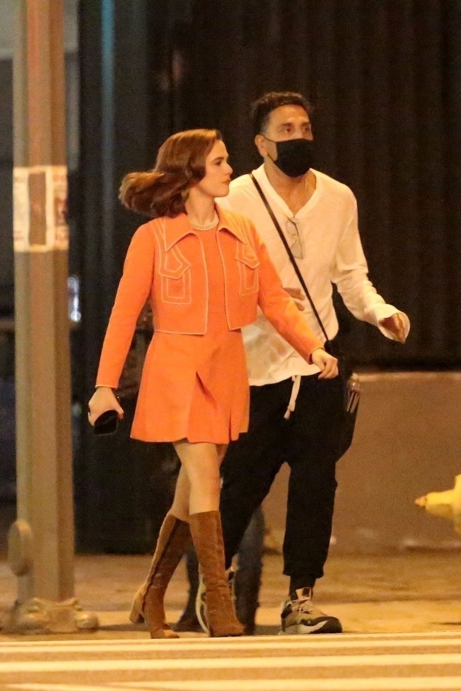 Zoey Deutch 2020 : Zoey Deutch – Makes a cameo for Justin Biebers latest music video in Los Angeles-04