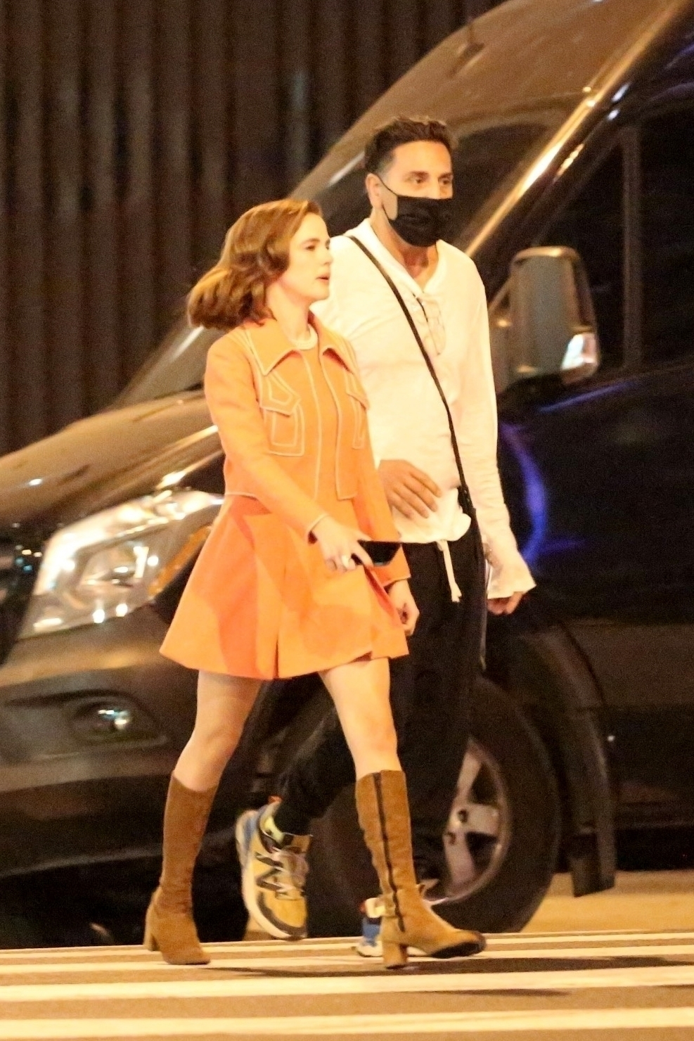 Zoey Deutch 2020 : Zoey Deutch – Makes a cameo for Justin Biebers latest music video in Los Angeles-10
