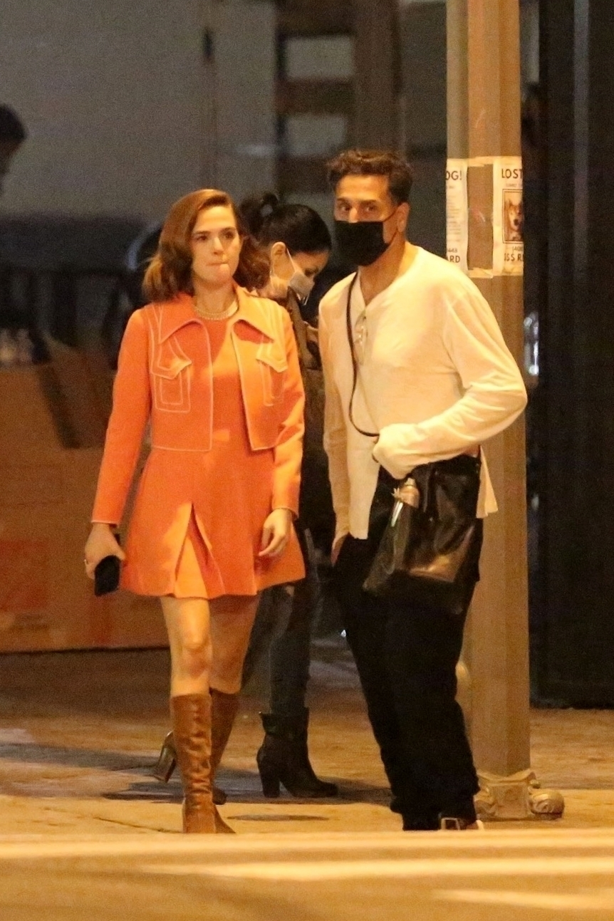 Zoey Deutch 2020 : Zoey Deutch – Makes a cameo for Justin Biebers latest music video in Los Angeles-13