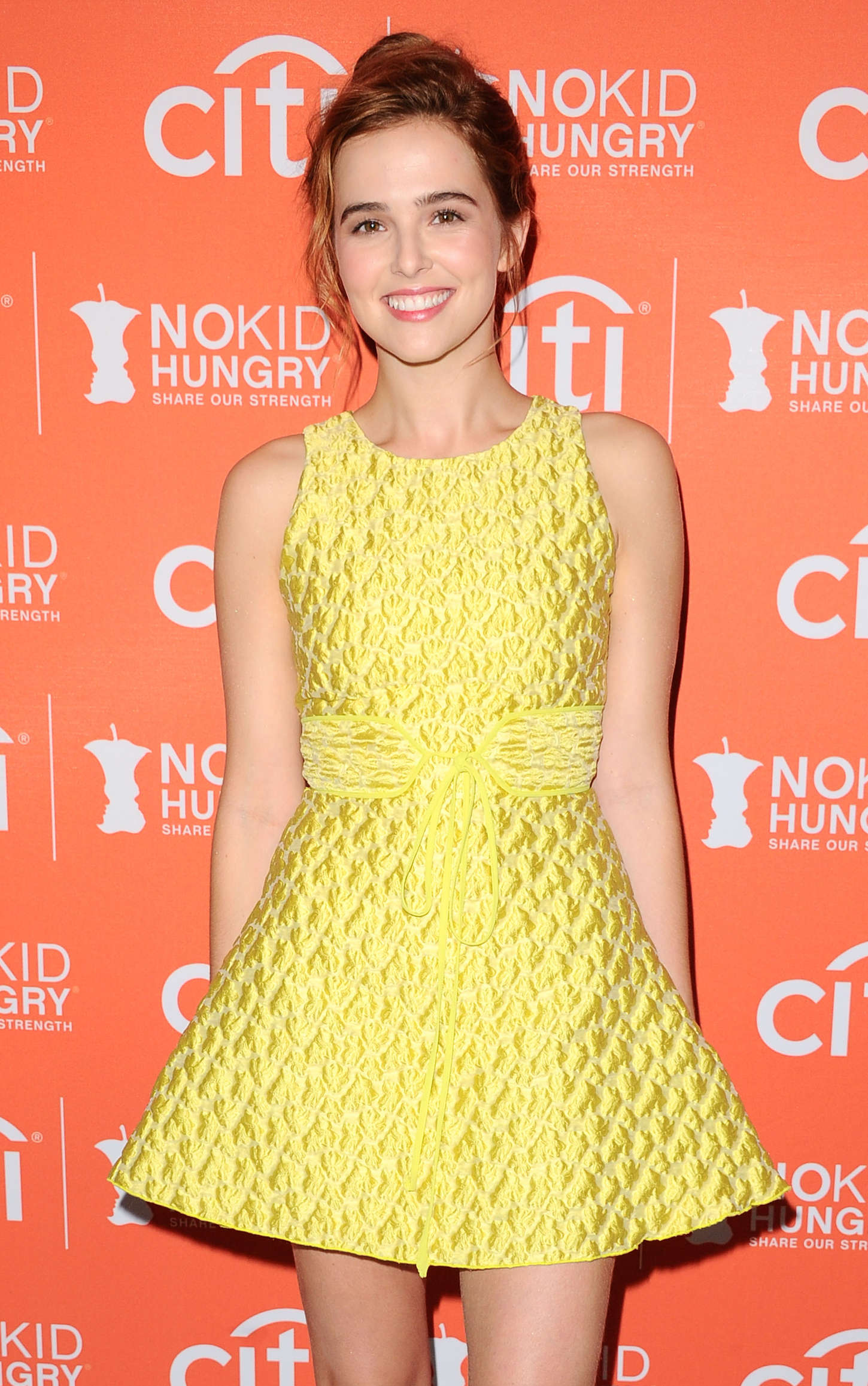 Zoey Deutch - No Kid Hungry Benefit Dinner in Los Angeles