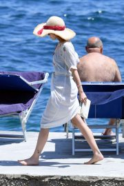 Zoey Deutch - Out and about in Ischia