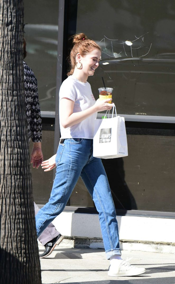 Zoey Deutch out for lunch in LA