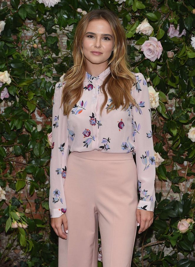 Zoey Deutch - Rebecca Taylor x Shopbop Denim Launch Dinner in NYC
