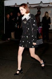 Zoey Deutch - Seen Leaving a party in Brentwood