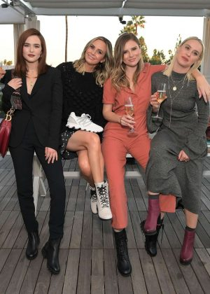 Zoey Deutch - SOREL x LadyGang Fall Podcast Party in Los Angeles