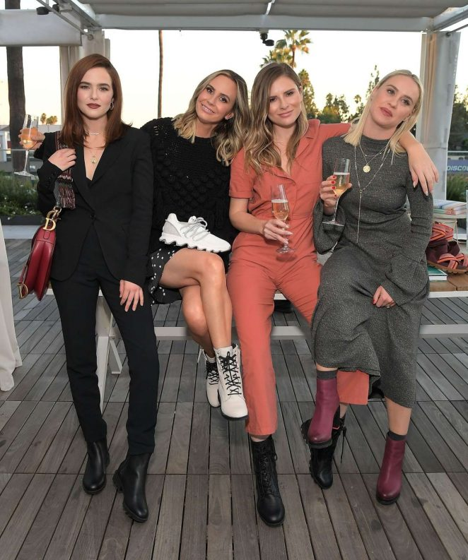 Zoey Deutch – SOREL x LadyGang Fall Podcast Party in Los Angeles