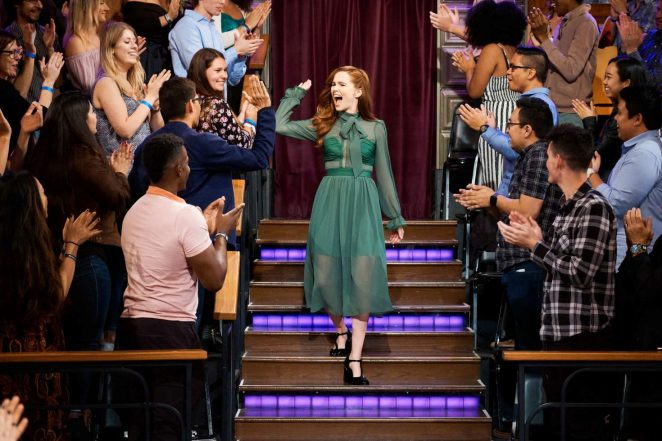 Zoey Deutch - 'The Late Late Show with James Corden' in LA