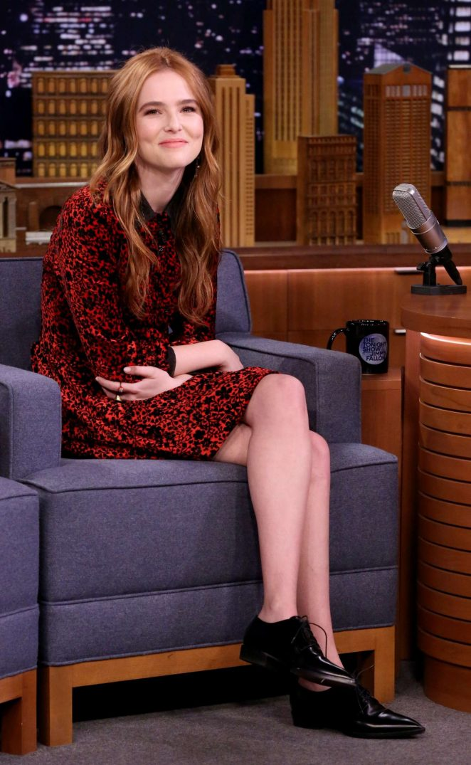 Zoey Deutch - 'The Tonight Show Starring Jimmy Fallon' in NYC