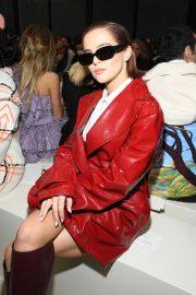 Zoey Deutch - Valentino Fashion Show in Paris