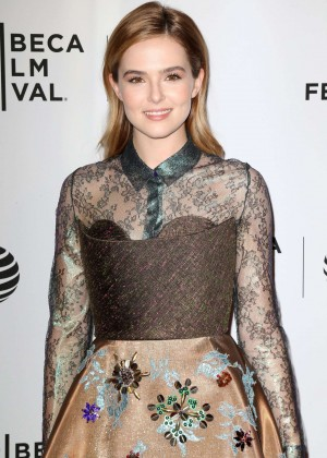 Zoey Deutch - 'Vincent N Roxxy' Premiere at 2016 Tribeca Film Festival in New York