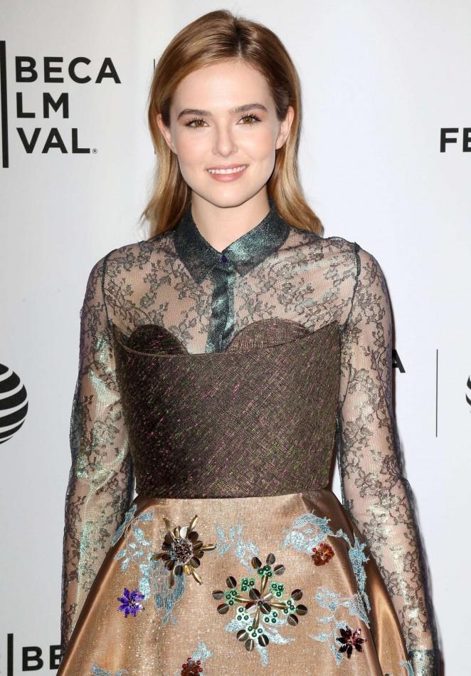 Zoey Deutch - 'Vincent N Roxxy' Premiere at 2016 Tribeca Film Festival in New York