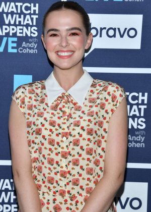 Zoey Deutch - Watch What Happens Live With Andy Cohen in NY