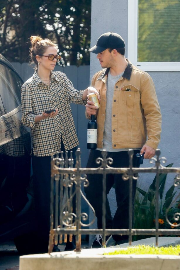 Zoey Deutch - With Jimmy Tatro seen in Los Angeles