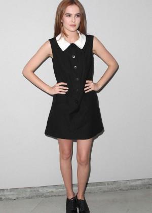 Zoey Deutch - Wolk Morais Debut Resort Pre-Fall Collection Fashion Show in LA