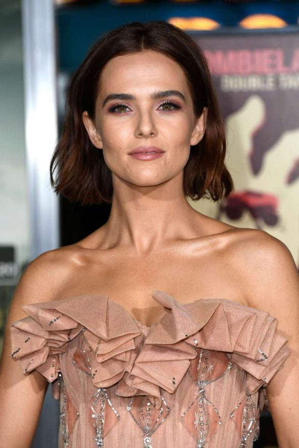 Zoey Deutch - 'Zombieland: Double Tap' Premiere in Westwood