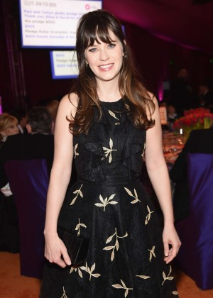 Zooey Deschanel - 2016 Elton John AIDS Foundation's Oscar Viewing Party in West Hollywood