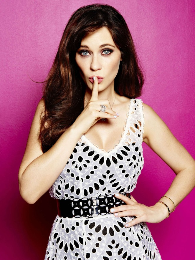 Zooey Deschanel - Cosmopolitan US (June 2015)